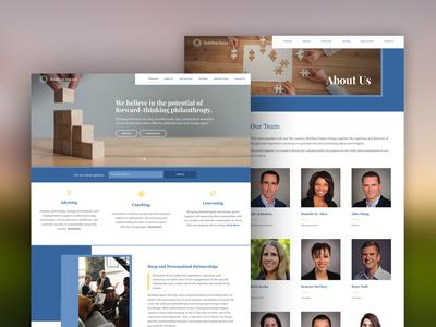 Web Design for Building Impact