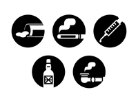Drug Classification Icons