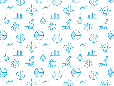 Data Science Pattern! 🤓 data science smart analytics brain graph science data iconography icon