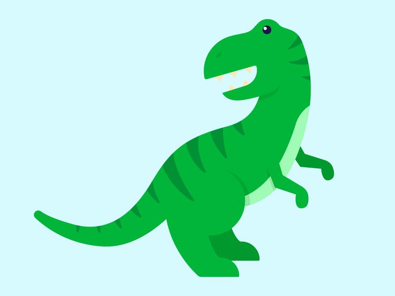 T-Rex jurassicpark rawr dino dinosaur t-rex design illustration