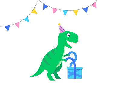 Party T-Rex!