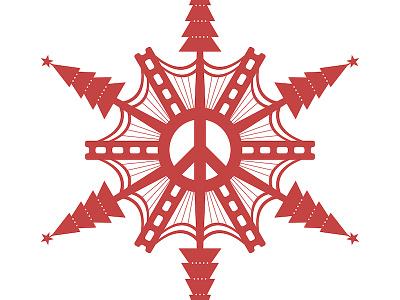 San Fran Snowflake san francisco snowflake