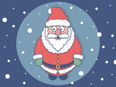 Circle Santa