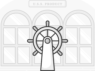 U.S.S. Product product management ships wheel
