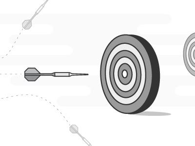 right on target hitting goals target goals