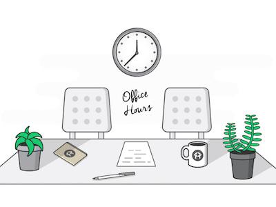 Office Hours office hours desk