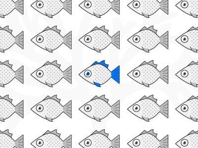 One fish, two fish, grey fish, blue fish fish account-based marketing abm