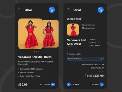 Okwi shopping app