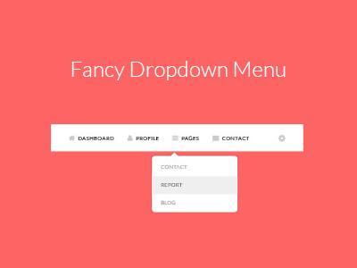 Fancy Dropdown Menu