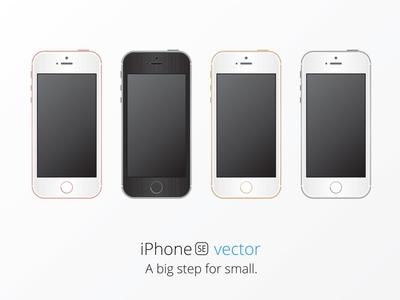 iPhone SE Mockup in Adobe Illustrator