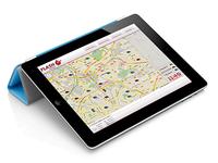 Geolocation Web App iPad