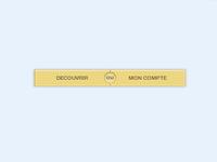 CSS3 TwinButton