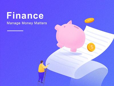 Finance finance illustration