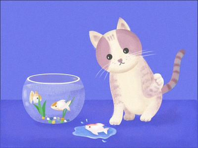 Mr. cat cat illustration