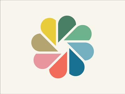 Colour Picker colorpicker color colourpicker aperture shutter pedals flower wheel icon design illustration colour