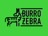 Burro Zebra (Tijuana Donkey/Zebra-Donkey)