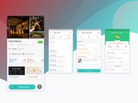 Android Restaurant Profile & Checkout