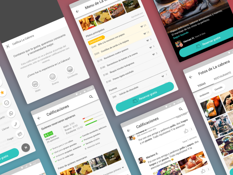 Android Profile Screens by Stefy Spangenberg 🌞🌚 for