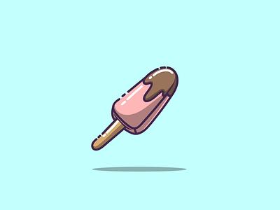 ice cream ux branding ui ice cream cartoon graphic design vector logo illustration icon design