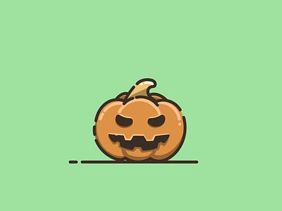 pumpkin halloween halloween pumpkin halloween branding cartoon graphic design vector logo illustration icon design