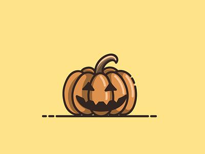 pumpkin halloween mascot halloween pumpkin halloween branding cartoon graphic design vector logo illustration icon design