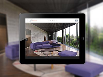 il Loft Vancouver, interior design & high-end furniture store. design wordpress websitedesign ui ux webdesign typography