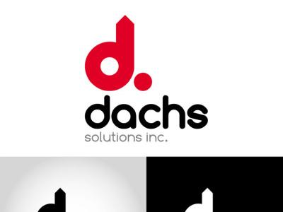 Dachs solutions inc. logo corporateid logodesign logo branding