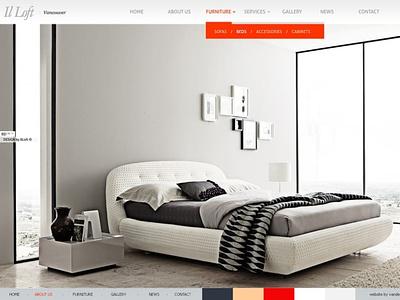 il Loft Vancouver   Exclusive furniture & interior designer vancouverwebdesign webdevelopment furniture interiordesign design websitedesign webdesign ux
