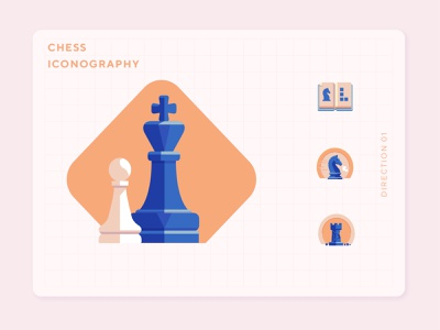 Chess.com Refresh. ux work vector ui logo chess piece chessboard chess illustration icon