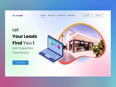Construction website landing page typography ux vector logo illustration graphic design ui design animation 2021 fun new home construction green blue pink color branding