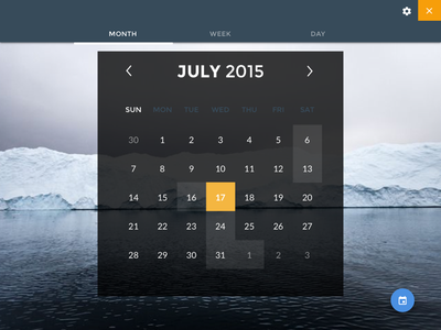 Scheduler datepicker date scheduler month calendar webapp progressive material