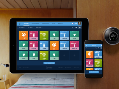 Home Automation, Control and Monitoring internet of things monitor control automation dashboard material iot