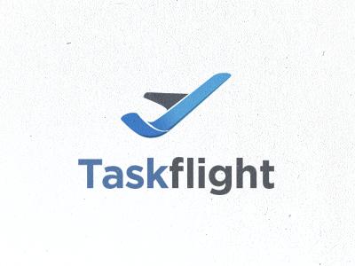 Task Flight Logo Concept v2 logo concept task flight plane airoplane airo plane taskflight logo concept identity tanveer