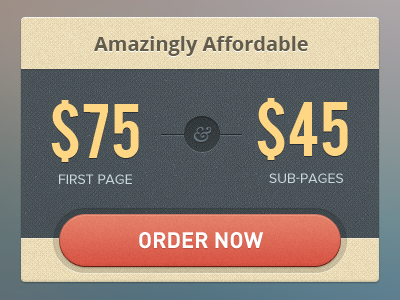 Pricing box
