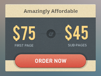 Pricing box