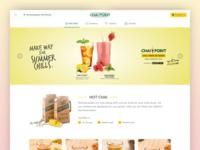 Chai Point Homepage