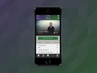 Vocal iOS Design