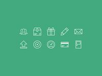 Bandfund Icons