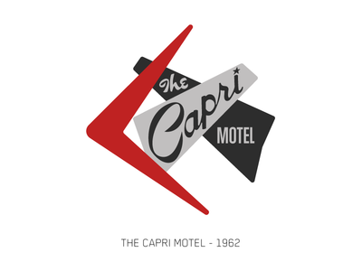 The Capri Motel - Sign Series