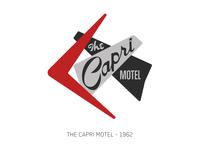 The Capri Motel - Sign Series