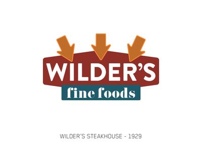 Wilder's - Sign Series
