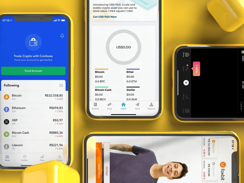 [Close] Benchmarks mobile ux app ui design bitcoin crypto exchange crypto currency cryptocurrency crypto wallet crypto money wallet