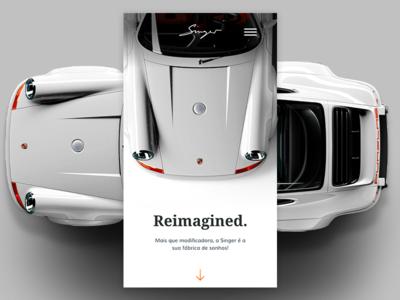 Singer Porsche 911 Reimagined