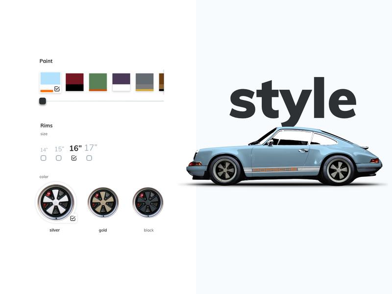 Porsche 911 Singer Configurator