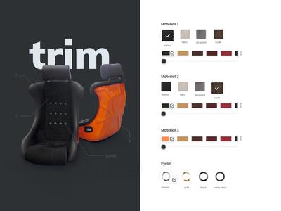 Color & Trim Singer Porsche