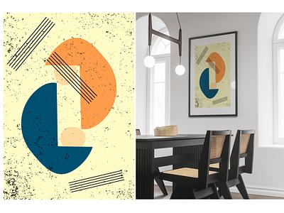 Poster vector illustration design graphic design
