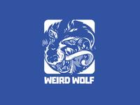 Weird Wolf Logo