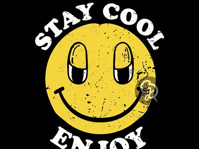 Smile Logo Design t-shirt design graphic design grunge design vintage design smile logo logo smile design illustration t-shirt