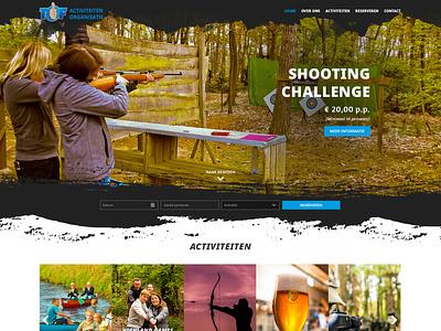 Webdesign Activiteitenorganisatie TOF bootstrap 5 website design webdesign