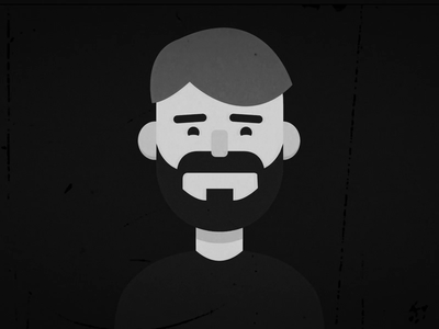 Self-portrait animation illustrations illustration old film static beard selfportrait portrait mexico design